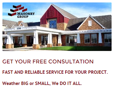free consultation from Masonry Group Inc.