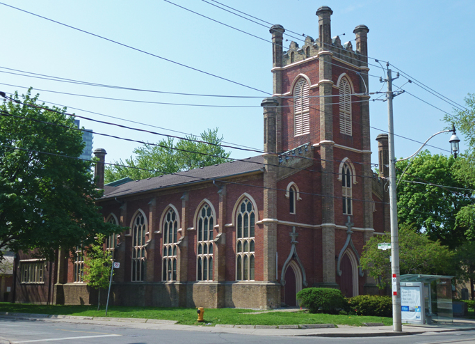 Toronto anglican church upgrade